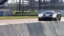 Ford GT race car caught testing at Sebring [video]