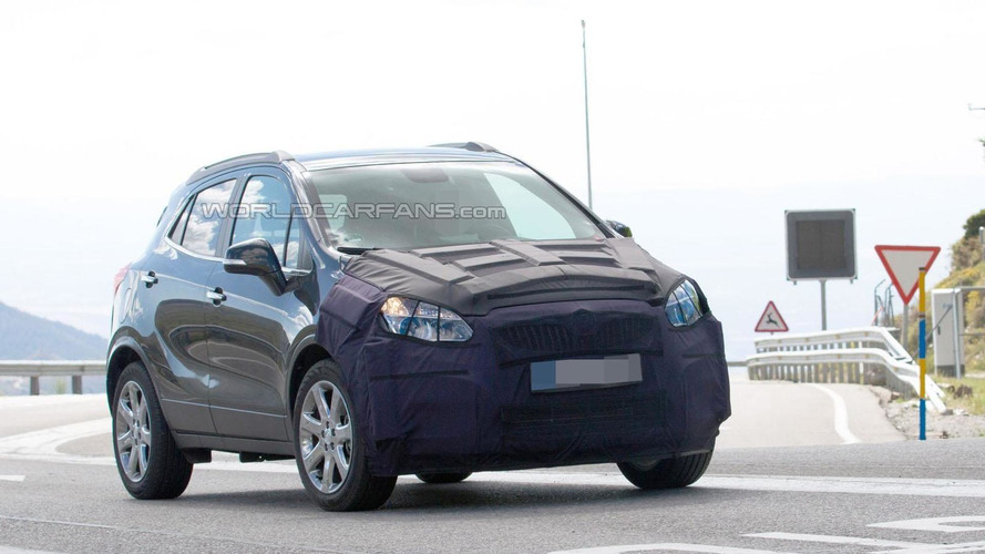 2017 Buick Encore facelift spied in Europe