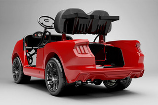 2015 Mustang Golf Cart Costs Almost As Much As a Regular Mustang