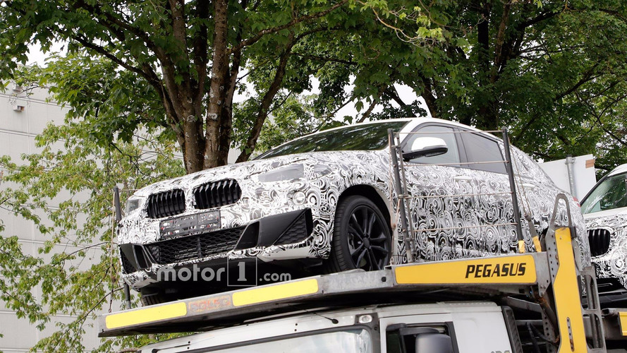 BMW X2 casus fotoğrafları - ön bölüm