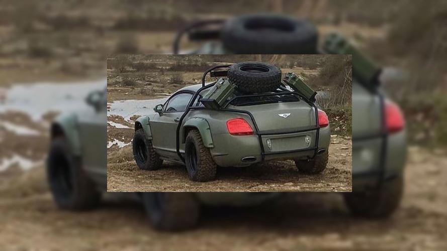 Bentley Continental GT off-road