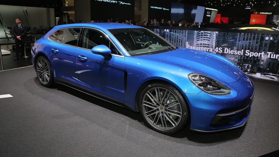 Porsche Panamera Sport Turismo is a handsome high-performance hauler