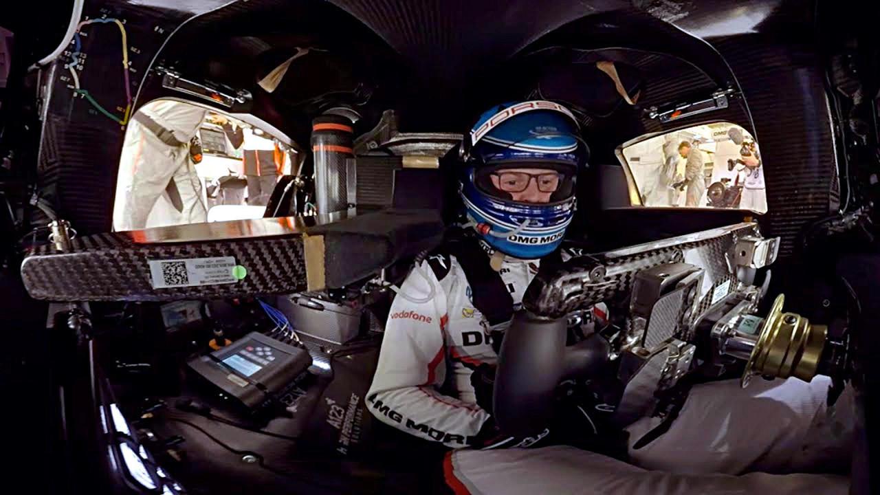 Porsche 919 Hybrid on-board lap