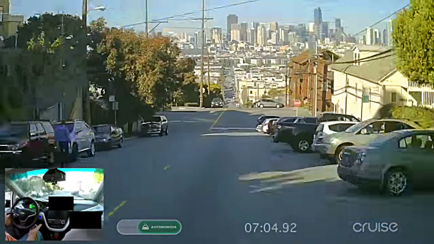 See The Chevy Bolt Drive Itself At Night In San Francisco