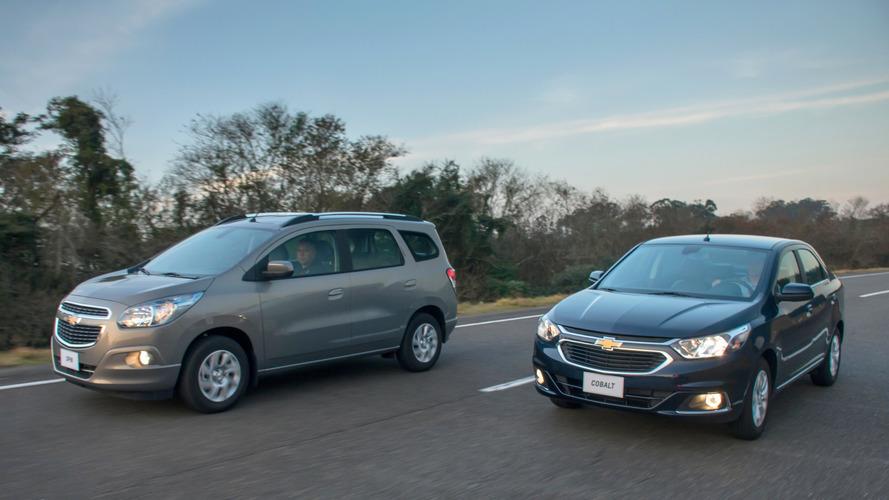 Chevrolet Cobalt, Spin, Tracker e Equinox também ficam mais caros