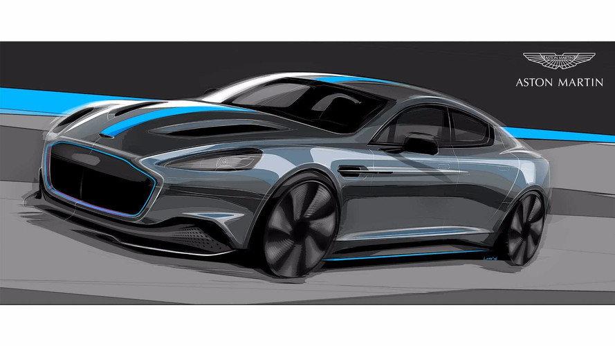 Aston Martin Charges Ahead With All-Electric RapidE For 2019