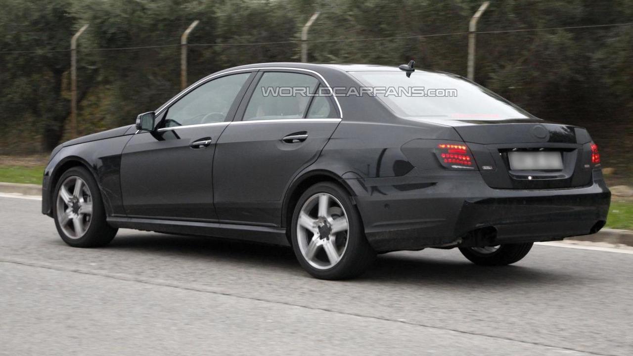 2014 Mercedes-Benz E-Class spy photo 05.12.2012 / Automedia