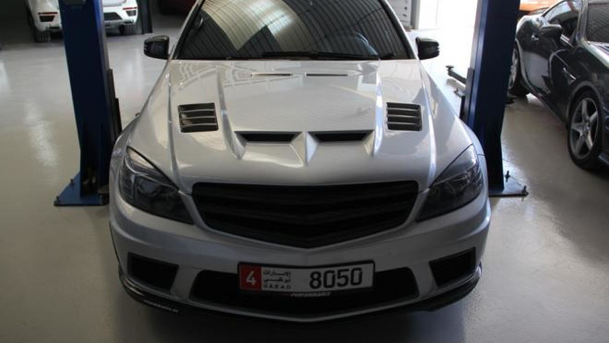 PP-Performance modifies Mercedes-Benz C63 AMG with SLS parts