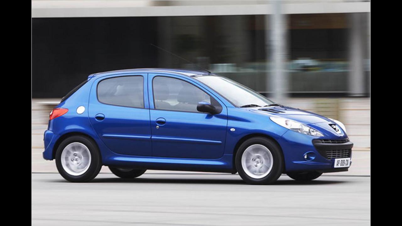 Die schlechtesten Autos bis 5 Jahre: Peugeot 206(+)/Dacia Logan (MCV)