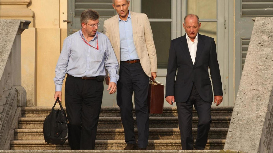 McLaren supremo Dennis admits Brawn talks