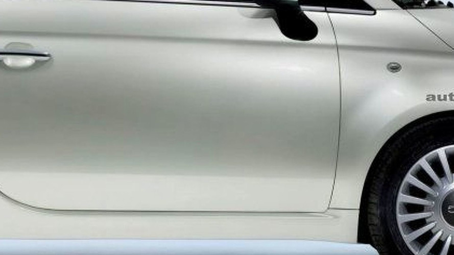 Fiat 500 Teaser Image Released