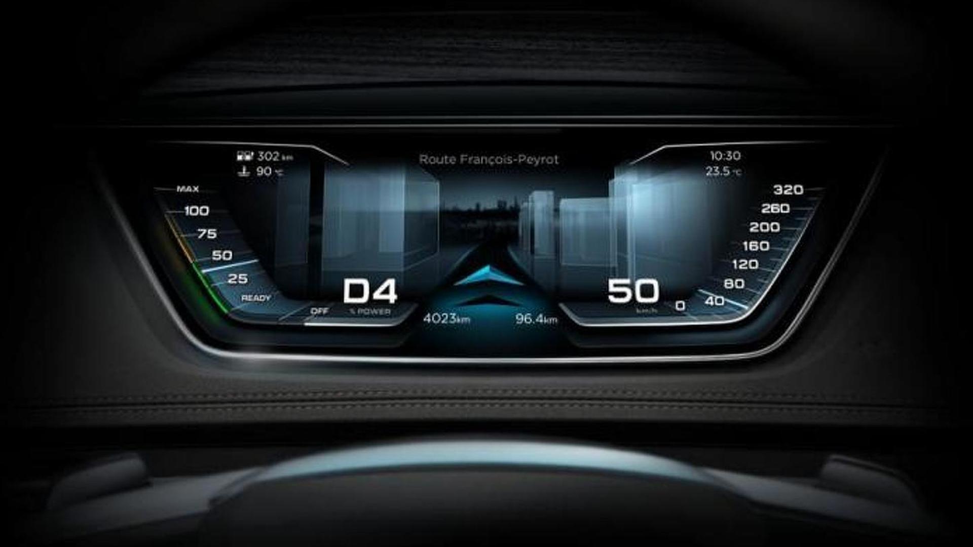 Цифровая приборная панель Audi Prologue Avant