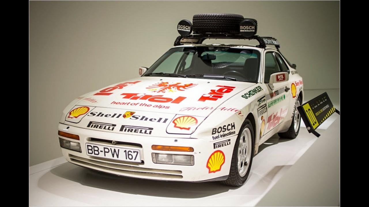 Porsche 944 Turbo Dauertestfahrzeug ,Bleifrei um die Welt