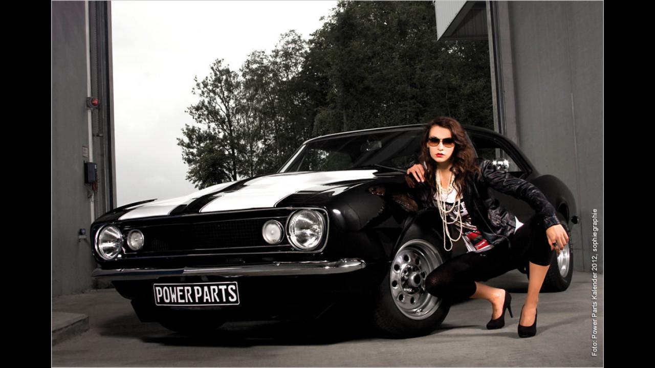 Silke und der Chevrolet Camaro