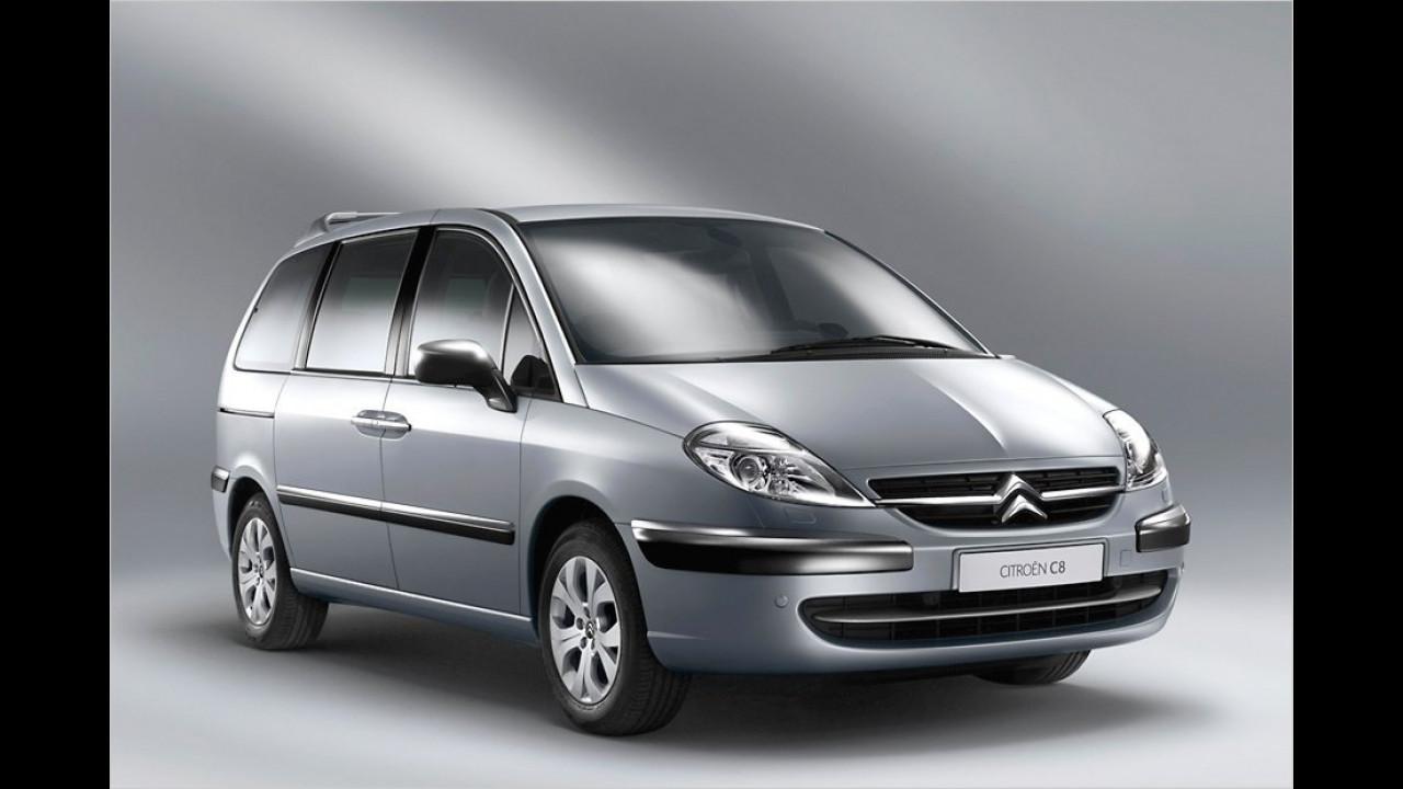 Citroën C8/Peugeot 807 (seit 2002)