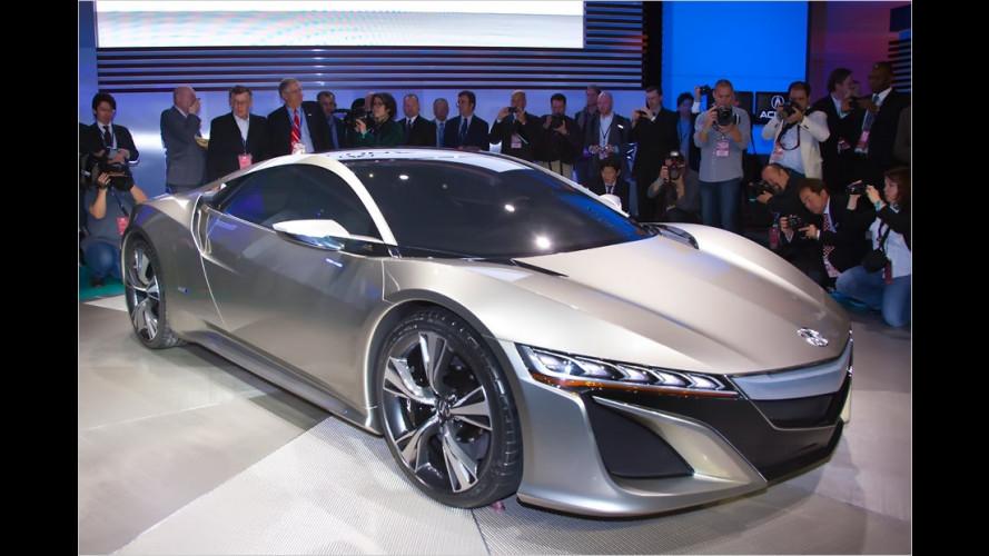 Honda belebt den Sportwagen NSX wieder