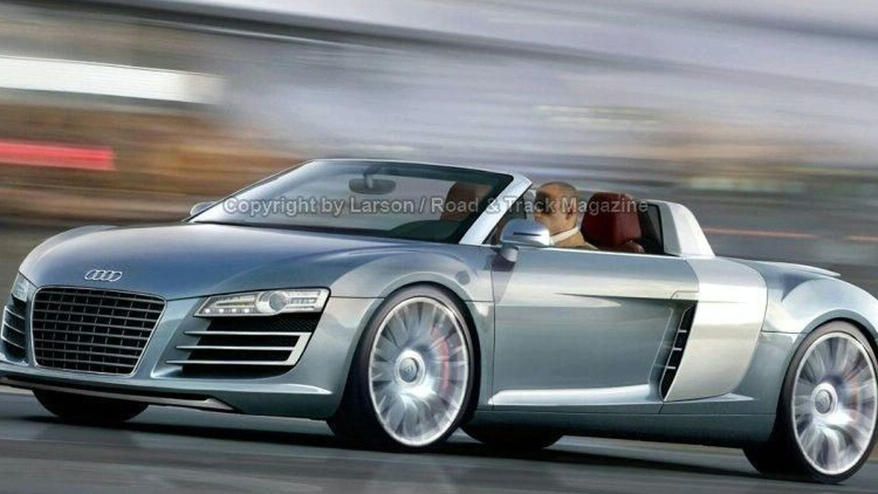 Audi R8 Targa artist interpretation