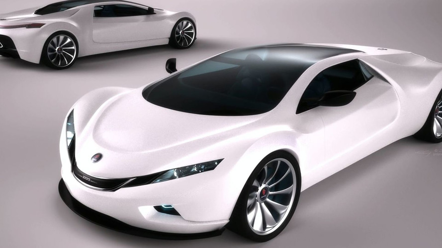 Saab Spyker 9+ Tribute Concept Car Envisions the Future