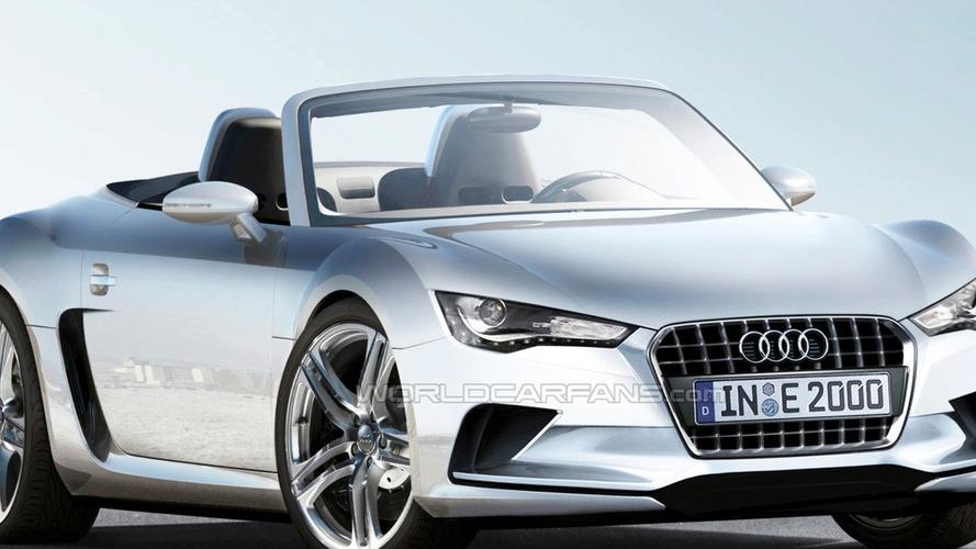 Rendered Speculation: Audi R4 Roadster