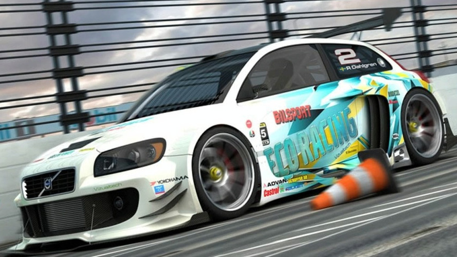 3D Rendered: Volvo C30 Racecar by Vizualtech