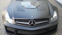 One off BRABUS VANISH based on SL65 AMG Black Series surfaces