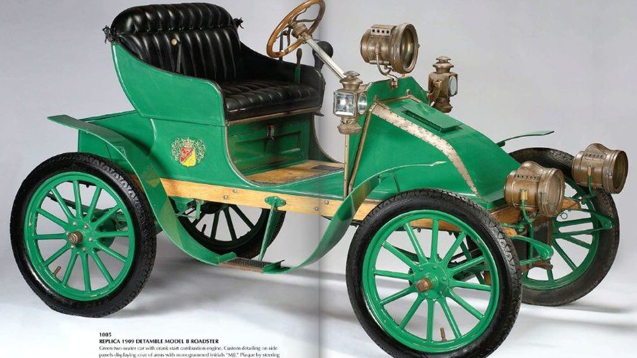 Michael Jackson's 1909 Detamble Model B Roadster Replica
