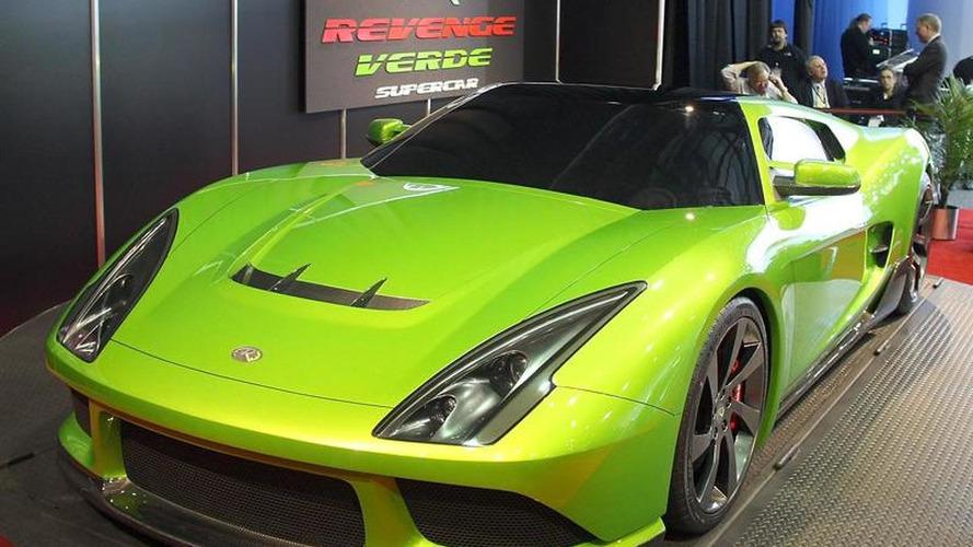 Patent woes threaten V8 hybrid in Verde supercar