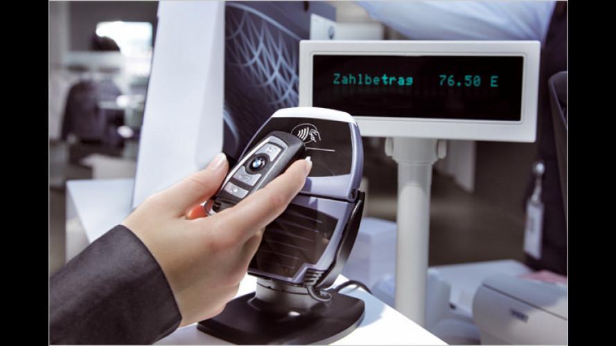 BMW: Autoschlüssel der Zukunft mit integrierter Kreditkarte