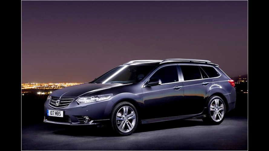 Honda Accord: Facelift in Genf