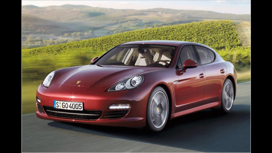 Porsche Panamera: Jetzt mit Sechszylinder-Motor