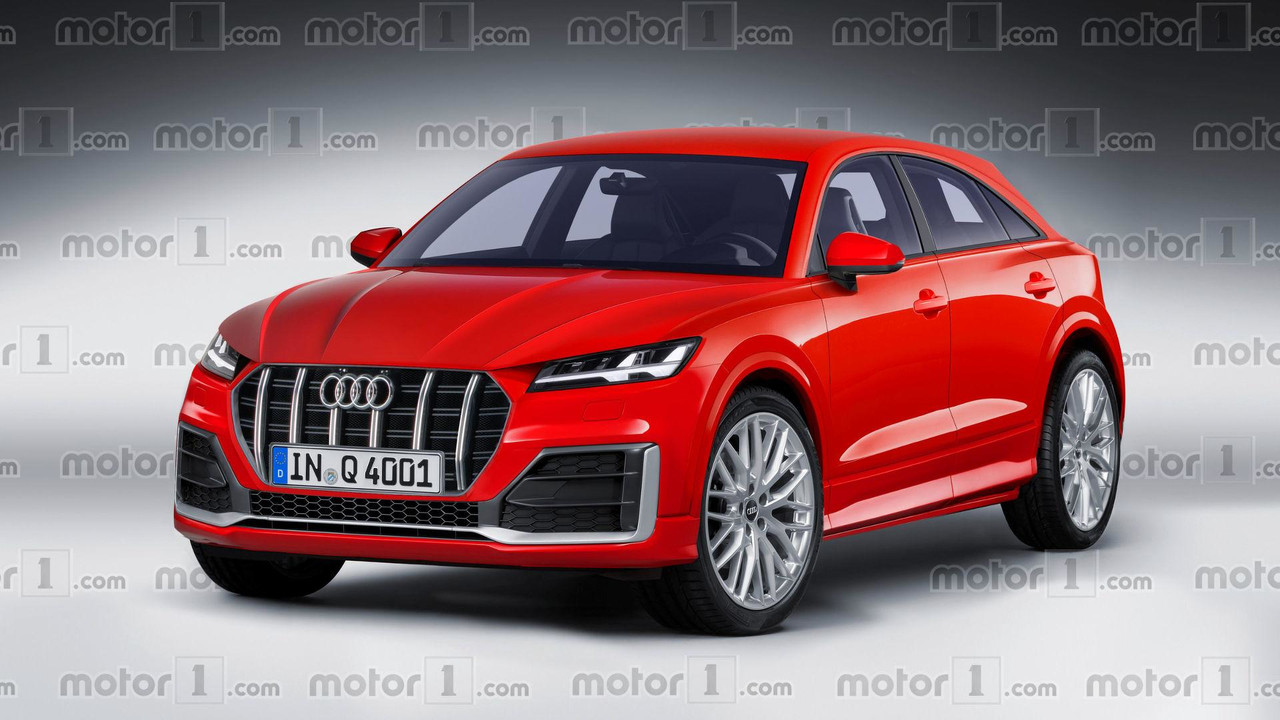2019 Audi Q4 render