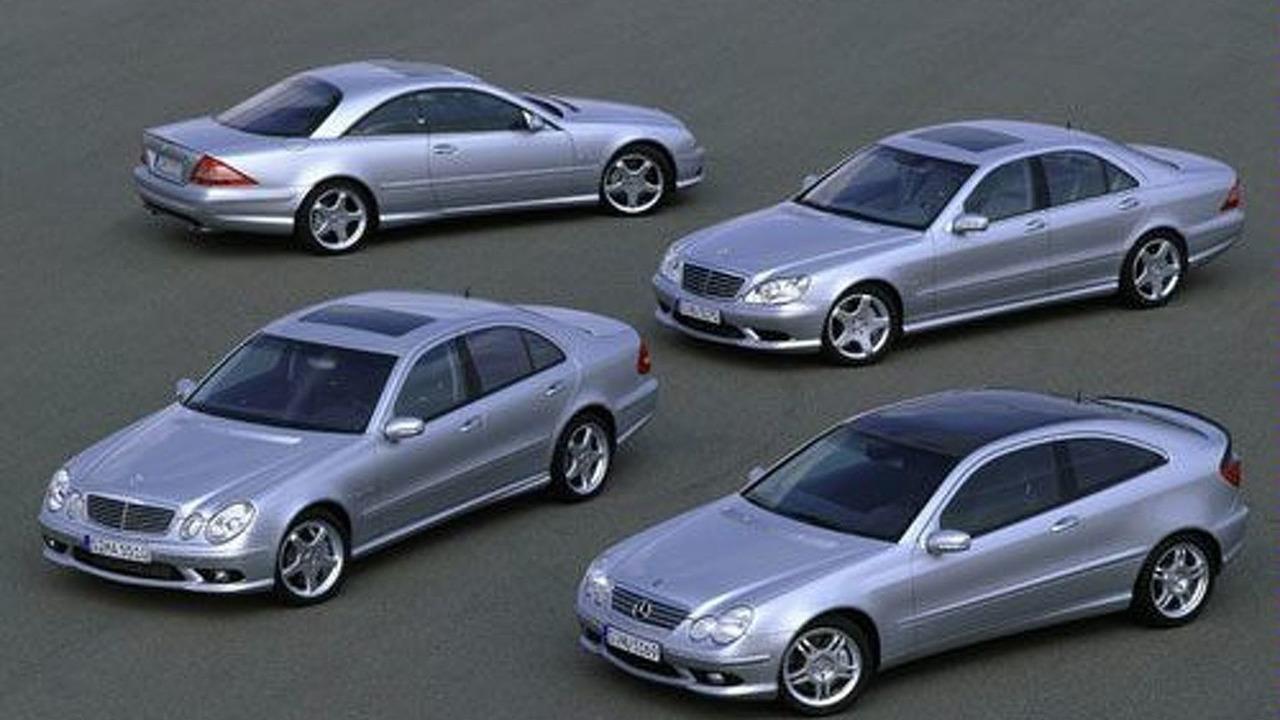 AMG model range