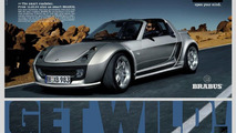 smart roadster-coupe BRABUS advertisement