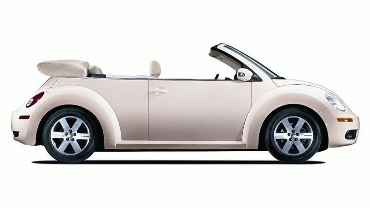 2006 VW New Beetle convertible Facelift