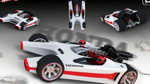 Hot Wheels Honda Racer