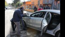 Test di Tech Mercedes Classe A, Roma