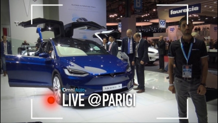 Salone di Parigi, Tesla Model S P100D e Model X [VIDEO]