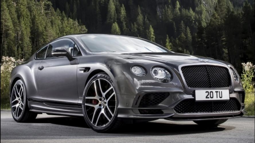 Continental GT Supersports, la Bentley più potente di sempre