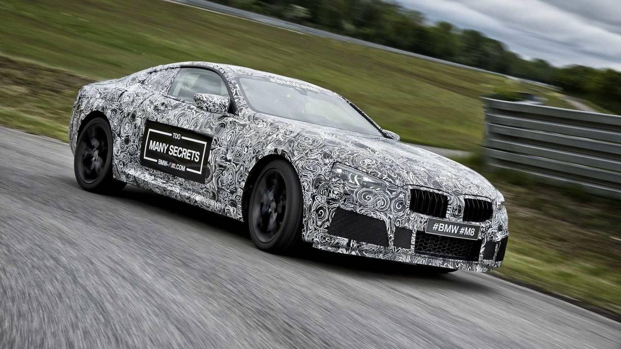 BMW M8 Coupé 2018