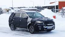 Hyundai Tucson facelift spy photo