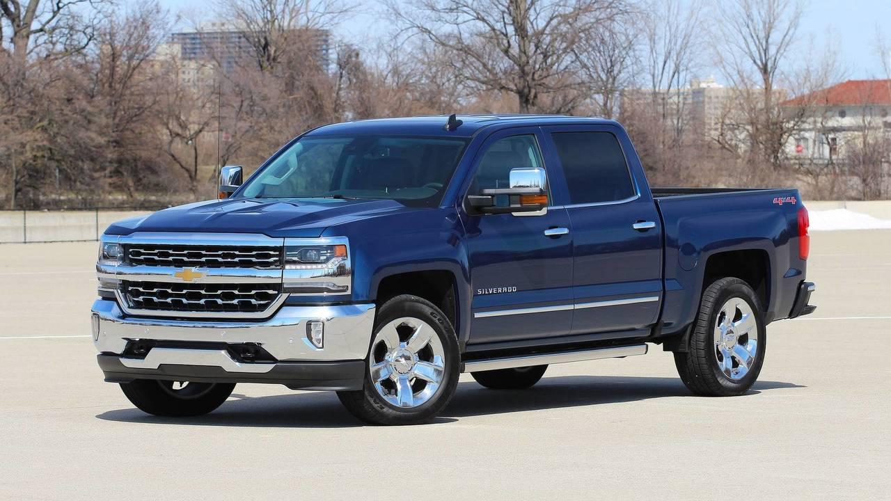 2. Chevrolet Silverado: 585,864 Units