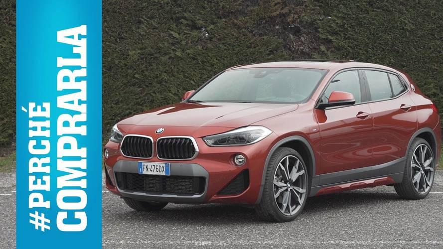 BMW X2, perché comprarla… e perché no