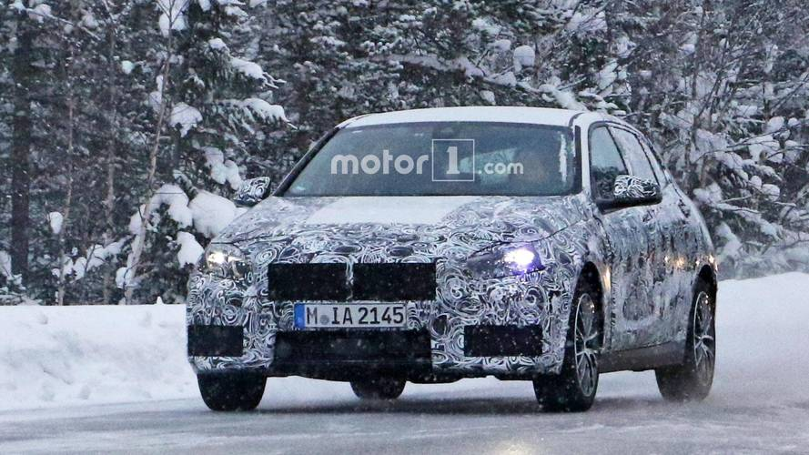 BMW 1 Series Spied Shining In Its Production Lights