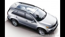Novo Kia Sorento 2010 já está no Brasil - Nova geração pode ser lançada em breve por aqui
