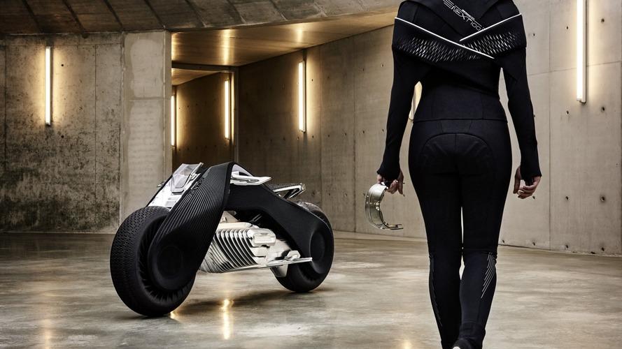 VIDÉO - BMW Vision Next 100 , la moto du futur est née