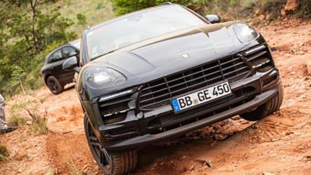 Dél-Afrikában is letesztelték a frissített Porsche Macant