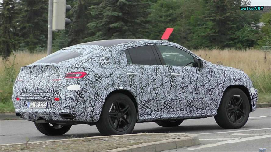 Mercedes GLE-Class Coupe Spied Show Smooth Rump On The Road