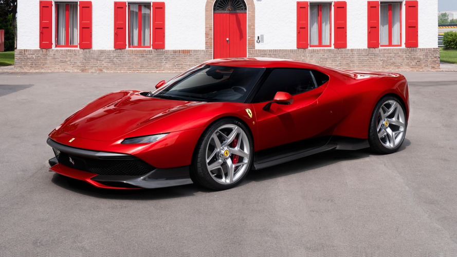 Ferrari unveils one-off SP38 supercar built for 'dedicated' customer