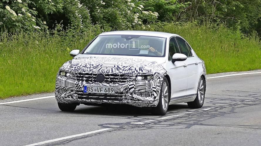 2019 VW Passat facelift Euro spec spy photos