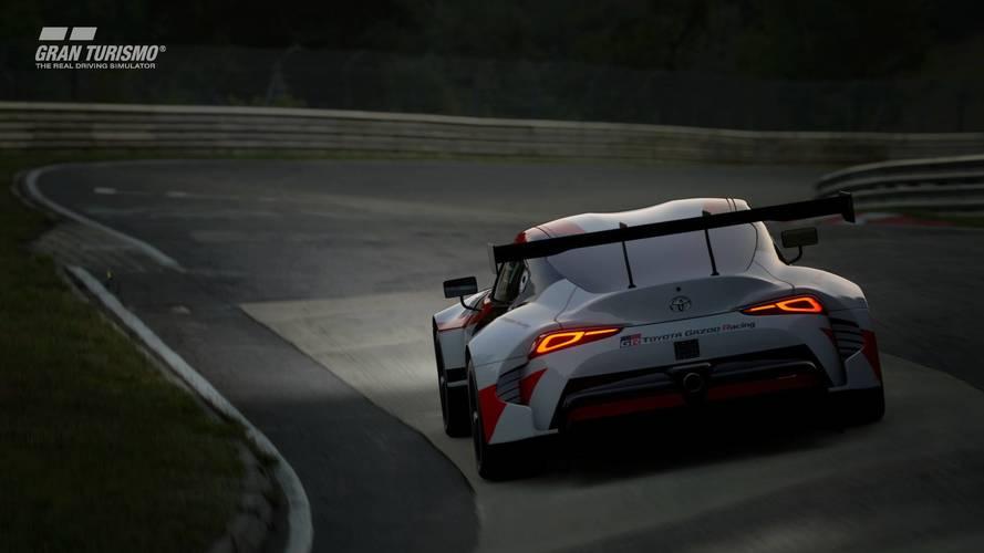 GranTurismo Sport'a gelen Toyota GR Supra Racing Concept